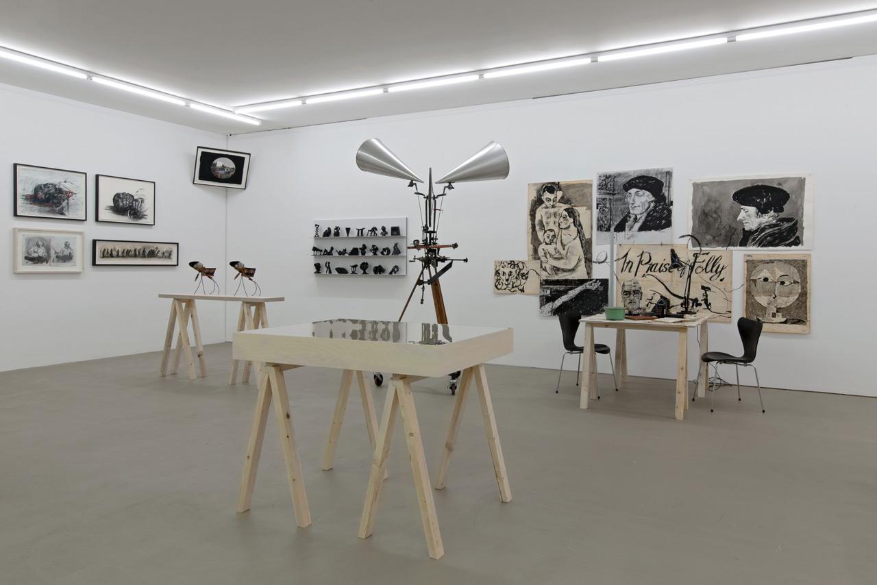 William Kentridge, Studioroom, 1994-2018, Kunstmuseum Basel, 2019