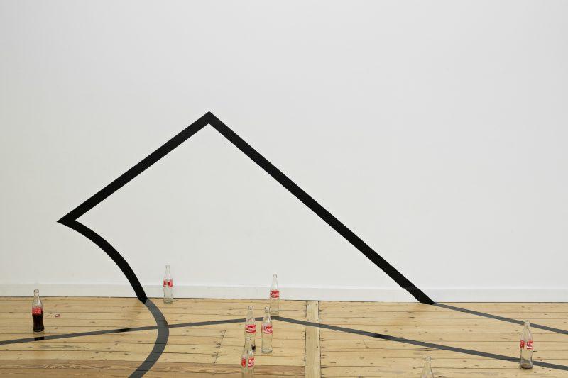 Adriana Lara, The Product & The Post-product, Part 2. Installationsansicht Nassauischer Kunstverein Wiesbaden, 2017