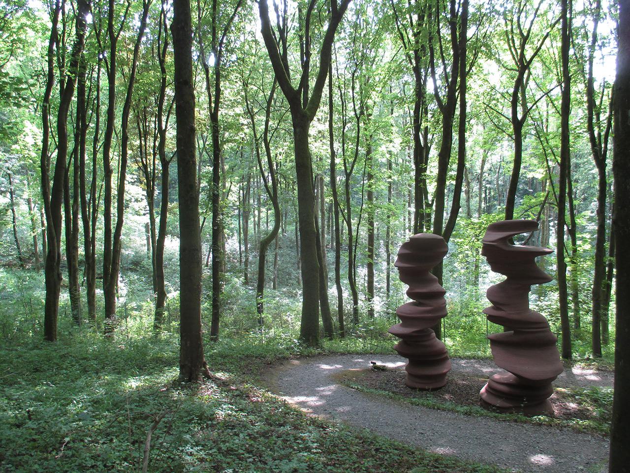 Tony Cragg, Here Today Gone Tomorrow 2002, Skulpturenpark Waldfrieden